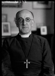 Geoffrey Fisher, Archbishop of Canterbury from 1945-1961. He was the first Archbishop to visit Rome since the Reformation