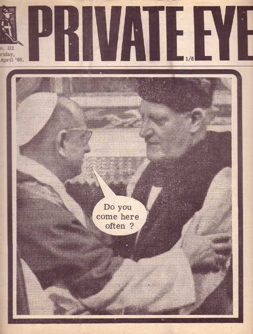 1966 Ramsey Michael Private Eye cover