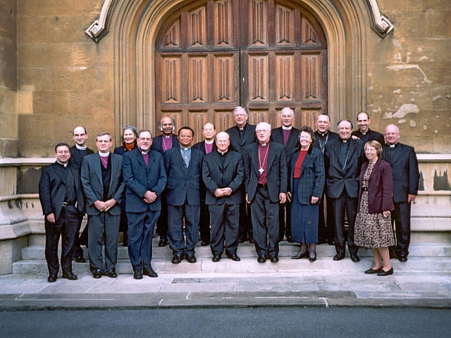 IARCCUM meeting with the Archbishop of Canterbury in November 2001