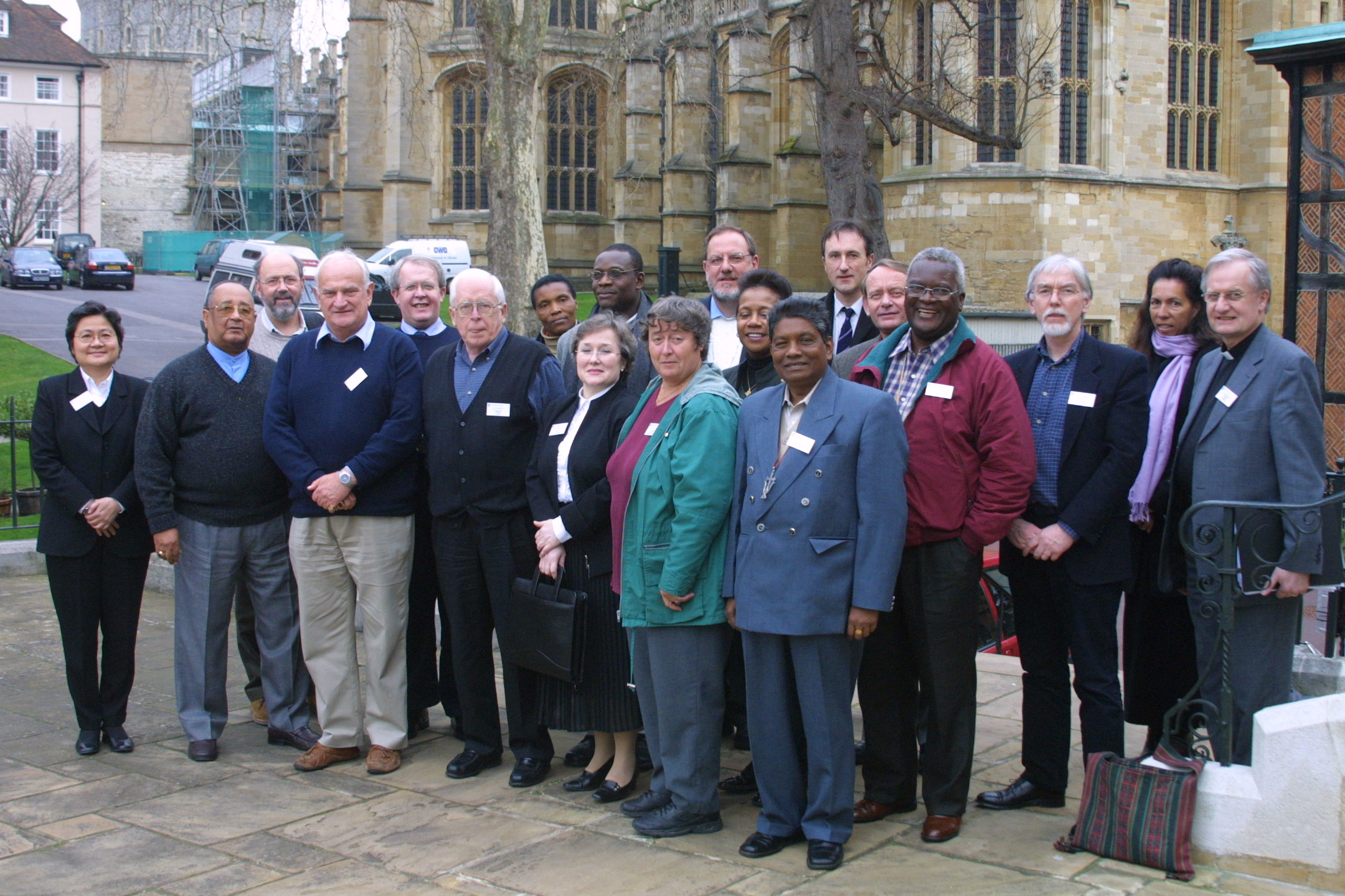 The Lambeth Commission outside St George's House, Windsor