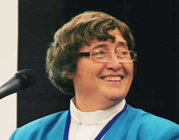 The Rev. Canon Alyson Barnett-Cowan