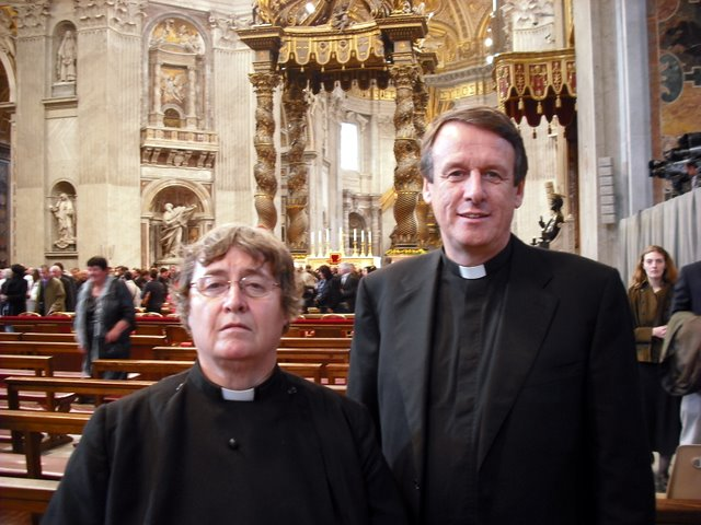 Rev Dr Canon Alyson Barnett-Cowan and Rev Dr Kenneth Kearon were guests at the Mass for the creation of new cardinals at St Peter's Basilica. Cardinal Kurt Koch, the president of the Pontifical Council for Promoting Christian Unity was made a cardinal