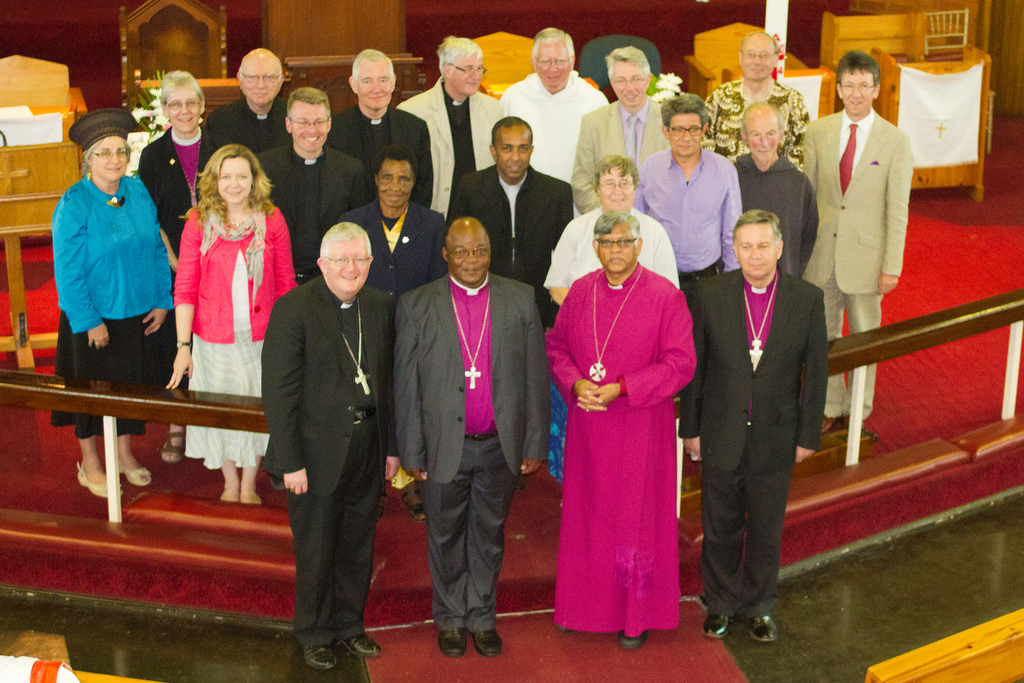 Members of ARCIC III at their meeting in Durban, South Africa (2014)