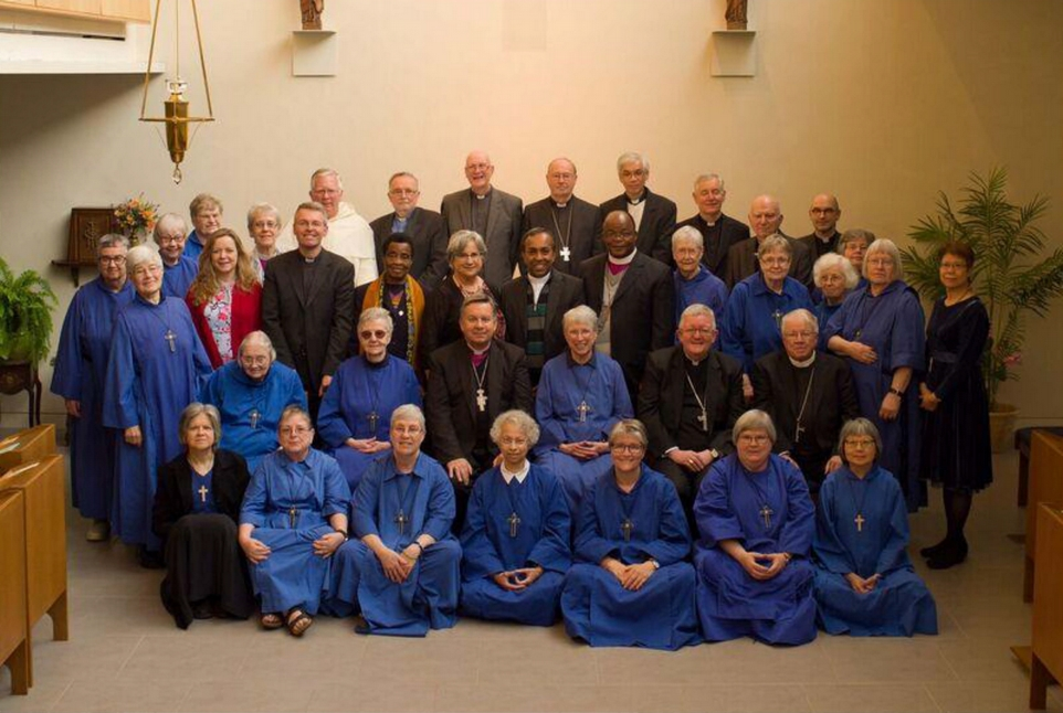 Members of ARCIC III pause for a photo with their hosts, the Sisters of St. John the Divine, during their 2016 meeting in Toronto