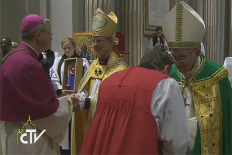 Commissioning of the IARCCUM bishops by Archbishop Justin Welby and Pope Francis
