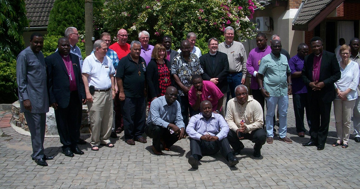 Bishops from North America, Africa, and England meet at the Seventh Consultation of Anglican Bishops in Dialogue in Accra, Ghana