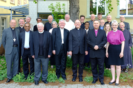 Members of the Anglican-Roman Catholic International Commission (ARCIC III) agree on a new document at their May 14-20 meeting in Erfurt, Germany. Photo: ARCIC
