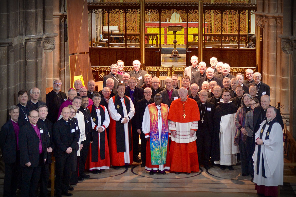 27 Catholic bishops of England and Wales and 27 Church of England bishops met in Leicester from 16 to 17 January for their biennial conference