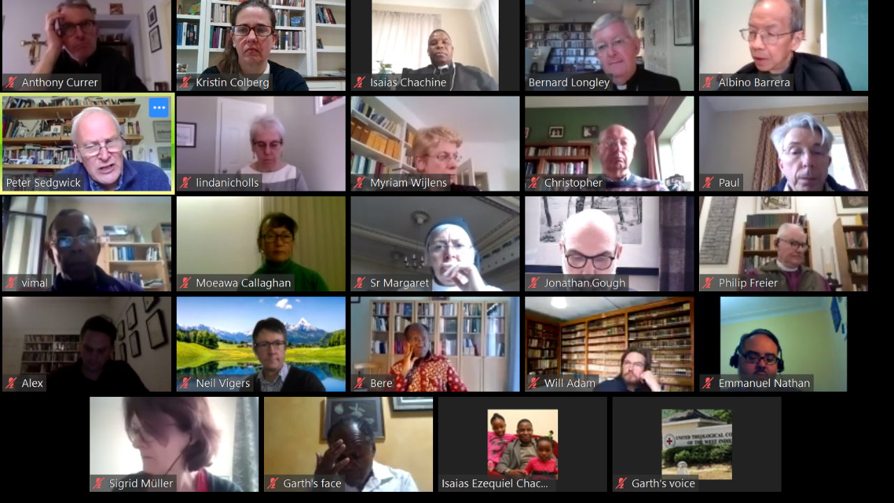 Instead of their annual in-person meeting, members of ARCIC-III met online over four days from May 12-15, 2020